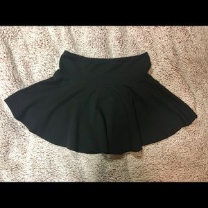 American Apparel Thick Knit Jersey Skirt
